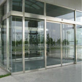 تجاريّة [ستينلسّ ستيل] باب زجاجيّة ونافذة