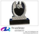 Monumento de inclinação cinzelado mão do anjo
