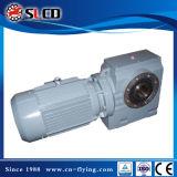 Motor helicoidal del reductor del engranaje de la unidad del engranaje de gusano de la serie S para la máquina de elevación