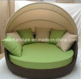 H- Outdoorの庭Furnitureのための中国Wick Day Bed