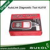 100% Autel originale Autolink Al619 ABS/SRS + può Al automatico 619 di collegamento dell'aggiornamento di Autel Al619 dello strumento di esplorazione diagnostica di Obdii