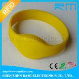 125kHz/13.56MHz RFID SilikonWristband wasserdicht für Ereignisse/Aktivitäten