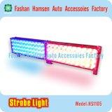 Intensitäts-LED-warnendes Röhrenblitz-Licht-Auto-blinkendes Licht für Polizei-Kasten