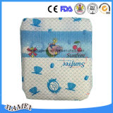 Baby Diaper mit Cloth Like Backsheet und pp. Tapes