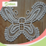 Okeo Approbation Butterfly Pattern Lace Fabric Floral Broder Patch