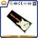 Cassa di alluminio della chitarra di mostra di alta qualità