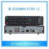 Receptor satélite cheio do LC FTA da estrela de Zgemma dos software das canaletas com o afinador de DVB-C um a um baixo custo