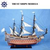Bateaux grands modèles en bois de victoire de Hms pour le cadeau nautique