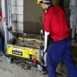 Automatischer Zeichnungs-Wand-Spray, der Maschinen-/Koagulation-Wand-Wiedergabe-Mörtel-Maschine vergipst