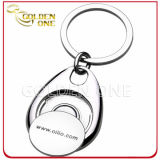 Trolley personnalisé Coin Key Chain pour Shopping Trolley Cart