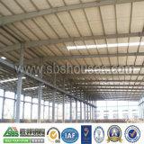 Vorfabriziertes Stahlgebäude für Werkstatt-Lager-Büro