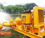 Dieselmotor-Wasser-Pumpe stellte für Stadt-Hochwasserschutz ein