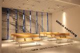 4 sedili Sedie lega di alluminio Aspettare, Attesa Sedia, lunga panca H60b-3