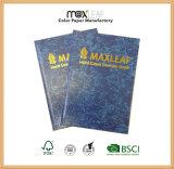 Approvisionnement direct d'usine de Notepad d'agenda de cahier de livre À couverture dure de couverture d'A5 Baladic