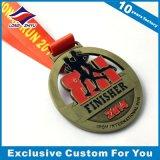 Medalhas Shaped da maratona do quadrado das medalhas do metal da alta qualidade