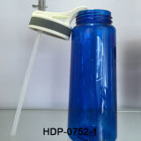 700ml Clear Tritan Sport Water Plastic Bottle (HDP-0752-1)