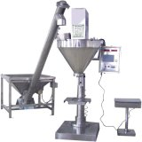 Screw Conveyor (HFT-GMB-01)の小麦粉Milk Powder Semi-Automatic Packaging Machine