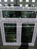 사려깊은 파란과 녹색 격리된 유리를 가진 60mm 시리즈 여닫이 창 Windows