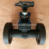 API602 1500lb 2500lb Forged Steel A105 Flange End Gate Valve