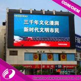 P10 het LEIDENE Scherm voor OpenluchtStadion dat VideoVertoning adverteert