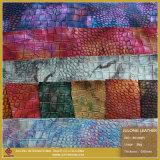 袋の総合的な革(B019085)のワニパターン