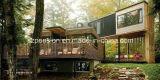 Camera moderna/villa prefabbricate di basso costo/prefabbricate per le feste Llife