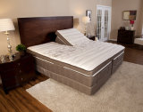 Gespleten Regelbaar Bed