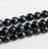 DIY 원석 느슨한 구슬 크기 6 8 10 12 14 16mm 돌 물가 자연적인 파란 호랑이 눈