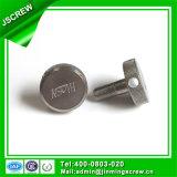 Parafuso especial personalizado do aço inoxidável do Passivation com centro da preensão