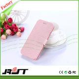 Caja de cuero del teléfono móvil de la PU del tirón del surtidor de China para Xiaomi MI 4
