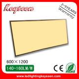 5 años de garantía 80W, 7500lm, el panel del panel Light/LED de 1200*600m m LED con el CE, RoHS