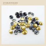 Schwarzer Diamant-chinesisches Glas entsteint KristallRhinestones