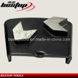 Segmento de pulido del diamante de HTC para el mármol concreto del granito