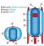 水処理(500L)のための飲用圧力タンク