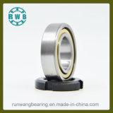 El cobre tiene los impactos angulares de la jaula de un contacto de la sola fila, rodamientos de bolas (7005ACM)