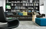(l) (r) +E Divanyの家具の革ソファーファブリックソファーD-63 E