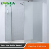 Frameless di alluminio Shower Screen per Bathroom
