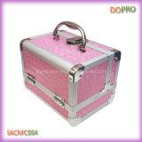 Rosa Alluminio caso cosmetico economici Casi di trucco Commercio all'ingrosso (SACMC004)