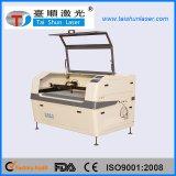Machine principale duelle de laser de CO2 pour la gravure de configuration de semelle intérieure de haut de chaussure