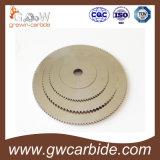 Lámina de la circular del carburo de tungsteno