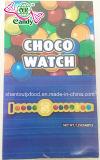 Reloj de la moneda del chocolate