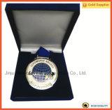 Lovewrold плюс серебряная медаль с голубой упаковкой коробки бархата (JINJU16-062)