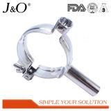 Encaixes de tubulação inoxidáveis sanitários da câmara de ar do gancho da tubulação de aço