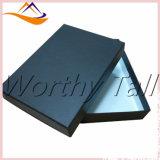 Boîte-cadeau noire intense lustrée de carton