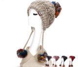 Шлем женщин способа с крышками цветка