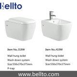 A parede pendurou o Bidet do banheiro dos mercadorias sanitários (419W)