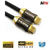 Qualitäts-Gold überzog das 1.4 HDMI Kabel mit LED-Licht