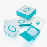 Rectángulo de joyería claro elegante del papel hecho a mano (CMG-PJB-034)