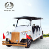 8 Sitzbatterie-elektrische Golf-Karren-Sonnenkollektor-Klassiker-Laufkatze