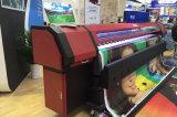 imprimante dissolvante de grand format de machine d'imprimante d'impression de câble de 3.2m Km512I